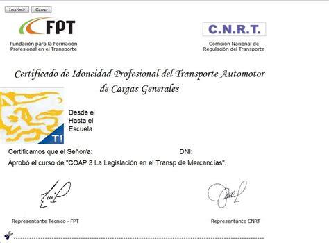 licencia nacional habilitante cnrt c 243 mo realizar curso c n r t licencia nacional habilitante