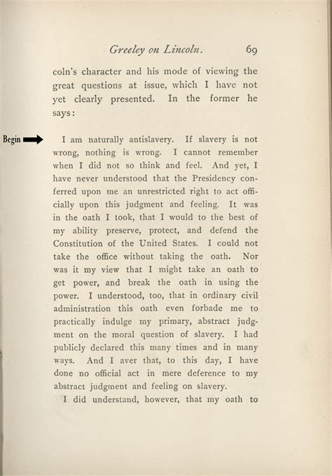 abraham lincoln letter to principal slavery civil war and the quot new birth of freedom