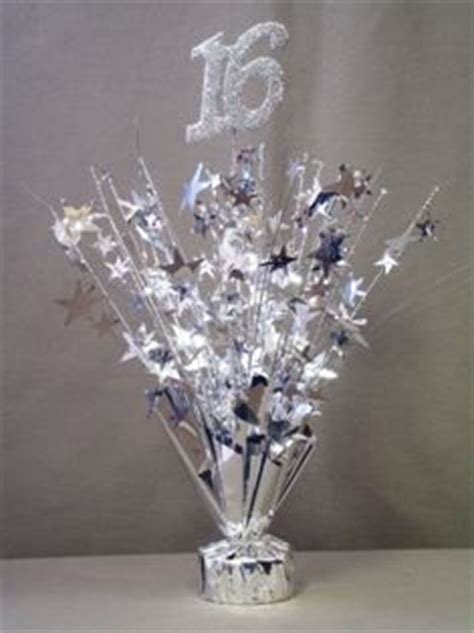 cheap centerpieces for sweet 16 silver sweet 16 centerpieces sale on inexpensive ready