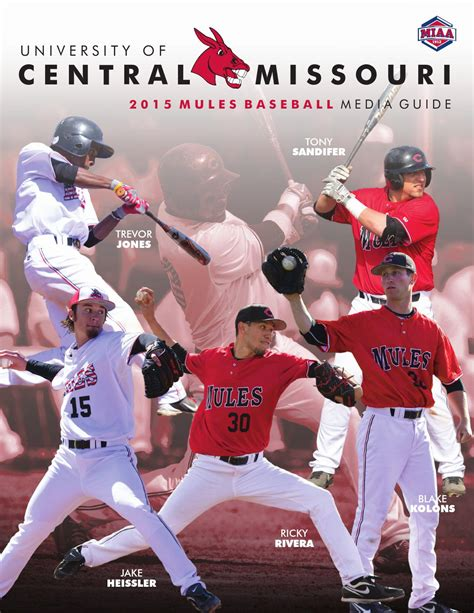 Of Central Missouri Mba Sports by 2015 Central Missouri Mules Baseball Media Guide By Ucm