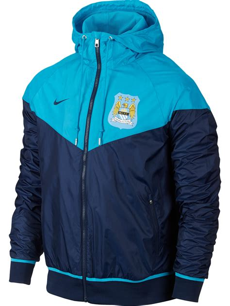 Jaket Ghost Navy Mancity authentic windrunner manchester city nike jacket