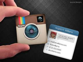 instagram logo for business card mini instagram business card by axylus on deviantart