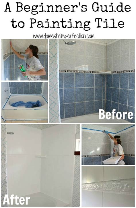 bathroom tile and paint ideas 25 best ideas about paint tiles on how to