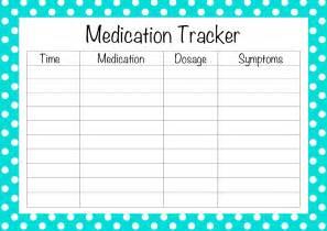 Free Medication List Template Free Printable Medication List Template Search Results