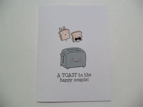 Engagement/Wedding Card   Wedding Shower Card   Toaster