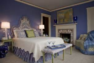 Periwinkle Bedroom Ideas by Kate Dickerson Design Portfolio Bedrooms