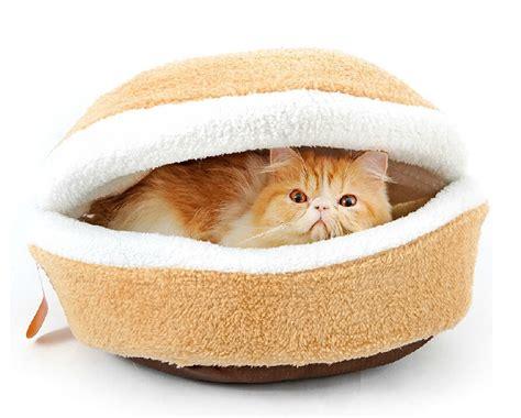 cat burger bed cat burger aww