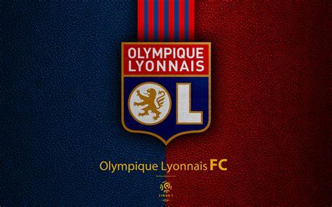 Download wallpapers Olympique Lyonnais FC, 4K, French ... K M Love Logo