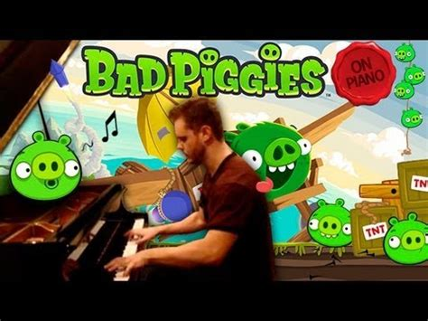 bad piggies original soundtrack angry birds on piano doovi