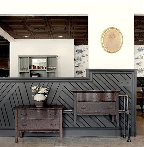 Contemporary Wainscoting by Contemporary Restaurant Wainscoting Search Wall