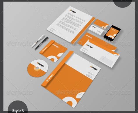 design mockup inspiration 45 corporate identity designs and branding