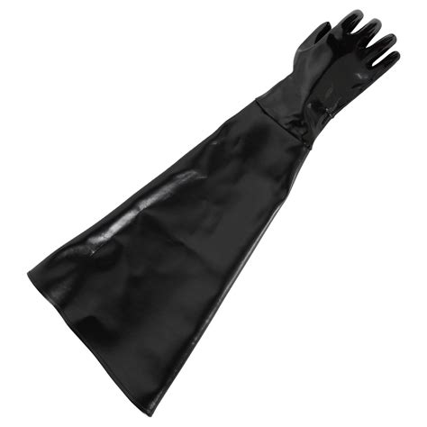 Blast Cabinet Gloves by Protective Gloves For Blast Cabinets Rubber Length