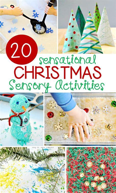 sensational christmas sensory activities  letters  literacy