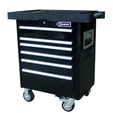 4 drawer kobalt tool bench shop kobalt 35 7 in x 33 4 in 6 drawer tool cabinet at