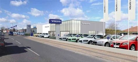 local volvo dealership dinnages to offer volvo s new experience to customers