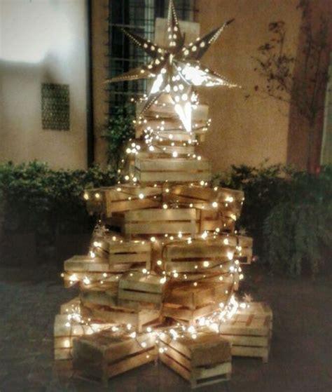 Albero Di Natale Con Cassette Frutta by Natale Si Avvicina Prepariamo Albero E Presepe Con