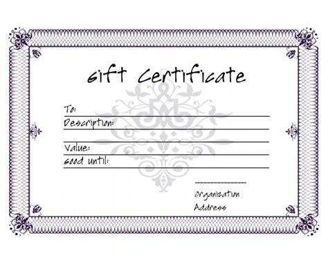 5 Premium Gift Certificate Free Templates Free Premium Templates Downloadable Gift Card Templates