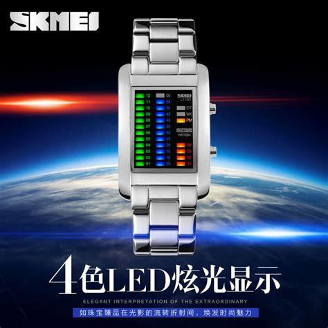 Jam Led skmei jam tangan led unik 1103a black jakartanotebook