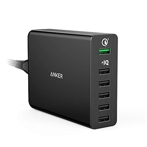 anker usb charger today s deal anker 6 port usb charger with charge