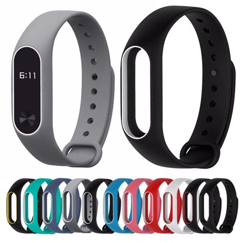 Miband 2 Silicon Bracelet Miband 2 Xiaomi replace for xiaomi mi band 2 miband 2 silicone