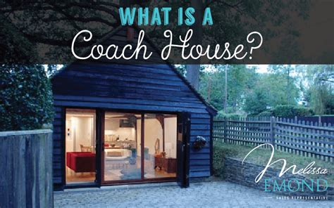 couch house what s a coach house and can you build one