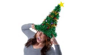 gigantic light up christmas tree hat the green head