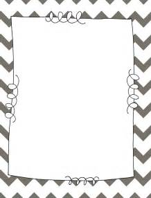 chevron border template lesson plans lattes binder