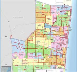 a great map with broward county zip codes location