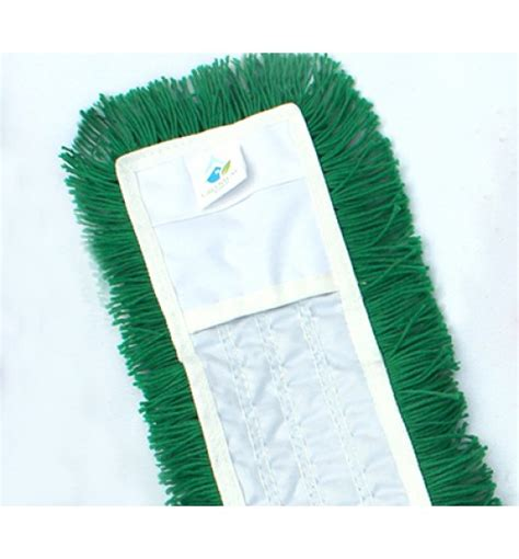 Proven Set Dust Mop 80 Cm by Dust Mop Acrylic 80cm Green Microfiber Cleaning