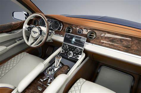Bentley Suv Interior bentley bentayga suv highlight 187 mph luxury suv