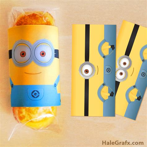 printable minion wrapping paper free printable despicable me minion twinkies wrappers