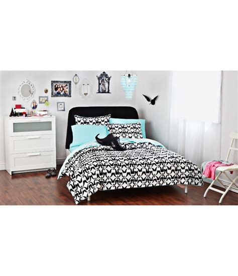 aeropostale bedding aeropostale mustache bed in a bag black white twin