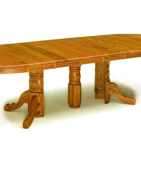 Martini Studio Dining Room Extension Table Hardwood Dining Room Furniture Valley View Oak Amish