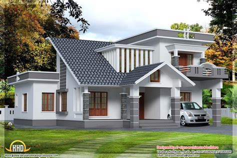 36x62 decorative modern house in india kerala home 2500 sq ft kerala contemporary mix home design indian