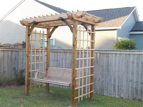 build swing diy arbor swing howtospecialist how to build step by
