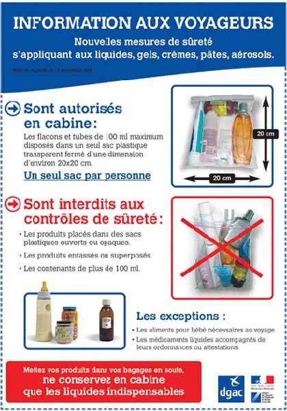 articles interdits en soute et en cabine air cara 239 bes