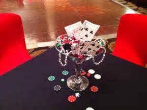 theme centerpiece martini glass centerpiece for casino theme casino