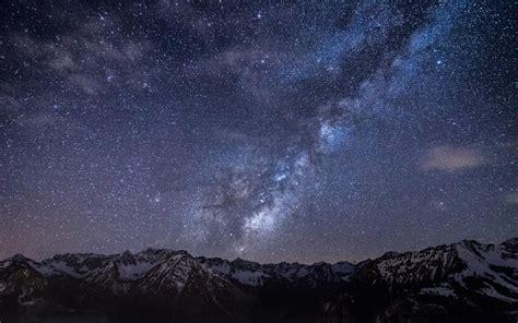 imagenes hd cielo estrellado cielo estrellado por encima de las monta 241 as fondos de