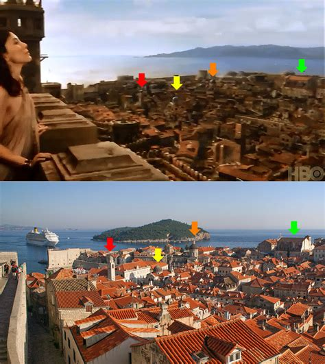 kings landing croatia game of thrones via globe