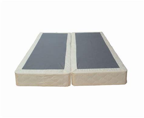 comfort bedding 8 inch mattress foundation split box