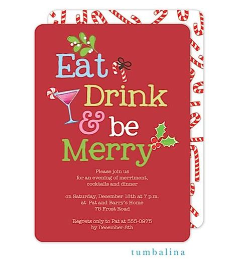 christmas cocktails invite 17 best images about christmas party invitations on