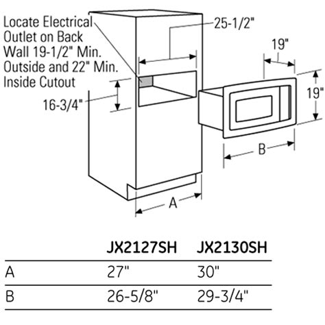 Microwave Drawer Dimensions by Standard Microwave Dimensions Bestmicrowave