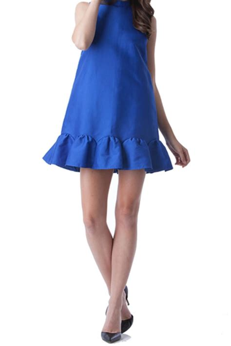Dress Sisca Fit L Cc 1 do be cobalt dress from new york city by jupe