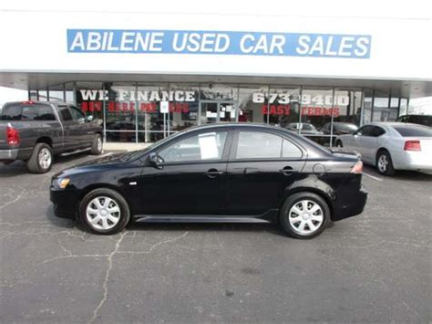 abilene used car sales 2012 mitsubishi lancer es abilene tx abilene used car sales