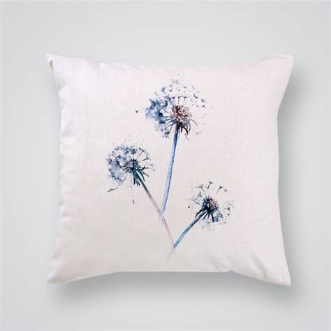 Shop Throw Pillows by Throw Pillow Cover Dandelions Print By Artollo