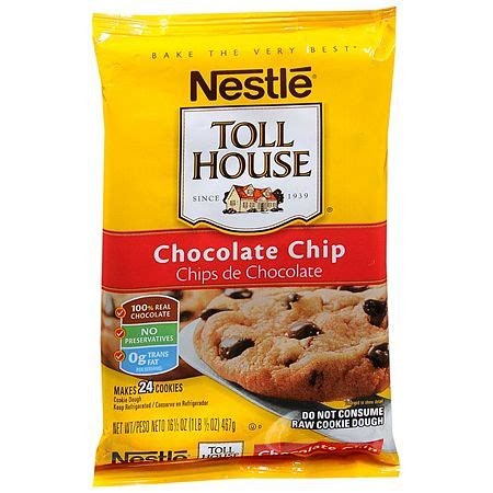 nestle toll house cookie dough   walgreens