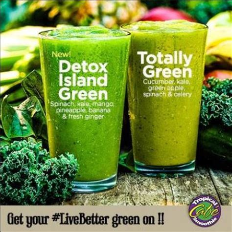 Tropical Smoothie Cafe Detox Smoothie Recipe by Did You You Can Get An Antioxidant Mineral Vitamin