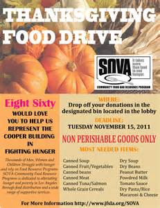 Food drive flyer template our annual food drive has