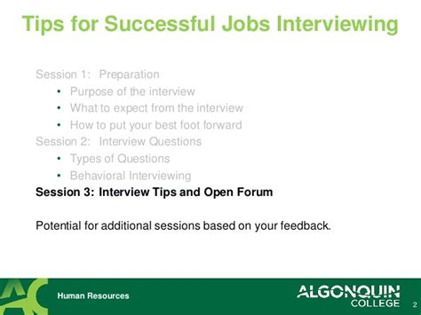 8 Tips On Setting Up A Successful by Tips For Successful Interviewing Other Tips