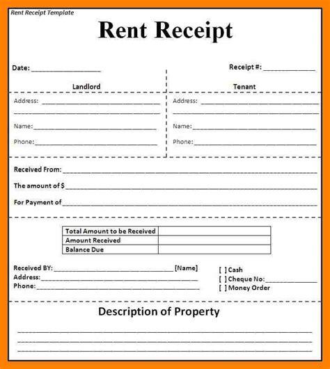 write a receipt template 8 how to write a rent receipt emt resume